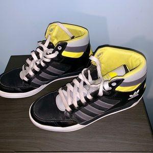 adidas Shoes - Men's 10.5 Adidas Black & Yellow sneakers